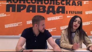 """Финалисты шоу """"Голос країни 8"""" Андрей Рыбарчук и Србуи Саргсян"""