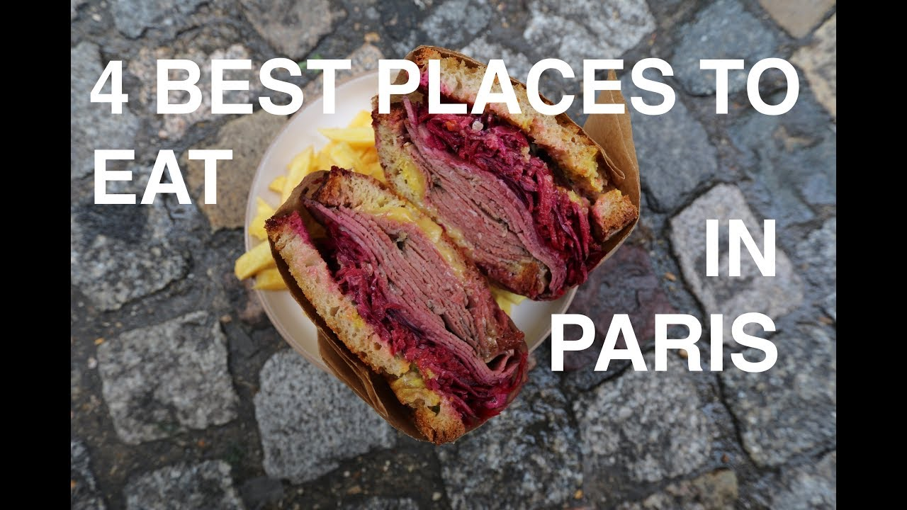 PARIS: Top 4 places to eat with French Guy Cooking | John Quilter