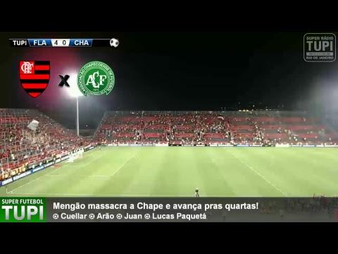 Flamengo 4 x 0 Chapecoense - Oitavas de Final - Copa Sul-Americana - 20/09/2017