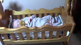Vintage Baby Doll Cradle