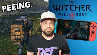 Witcher 3 on Switch Looks CRAZY + Death Stranding Has PEEING?
