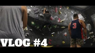 [VLOG #4] First Time at a Rock Climbing Gym!