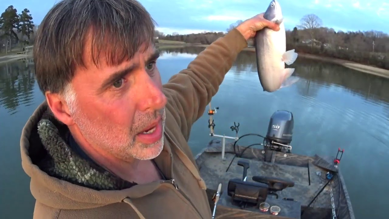 Draggin Baits For Winter Blue Cats