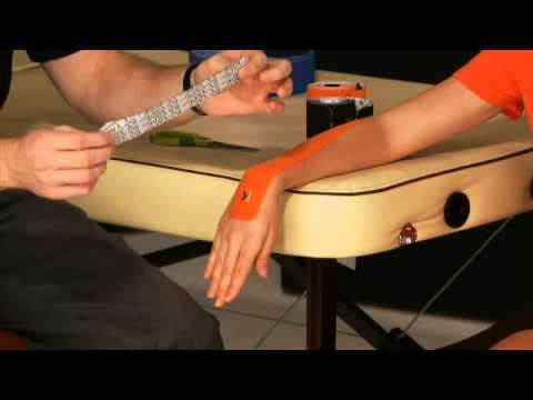 KT TAPE: Wrist Pain - YouTube