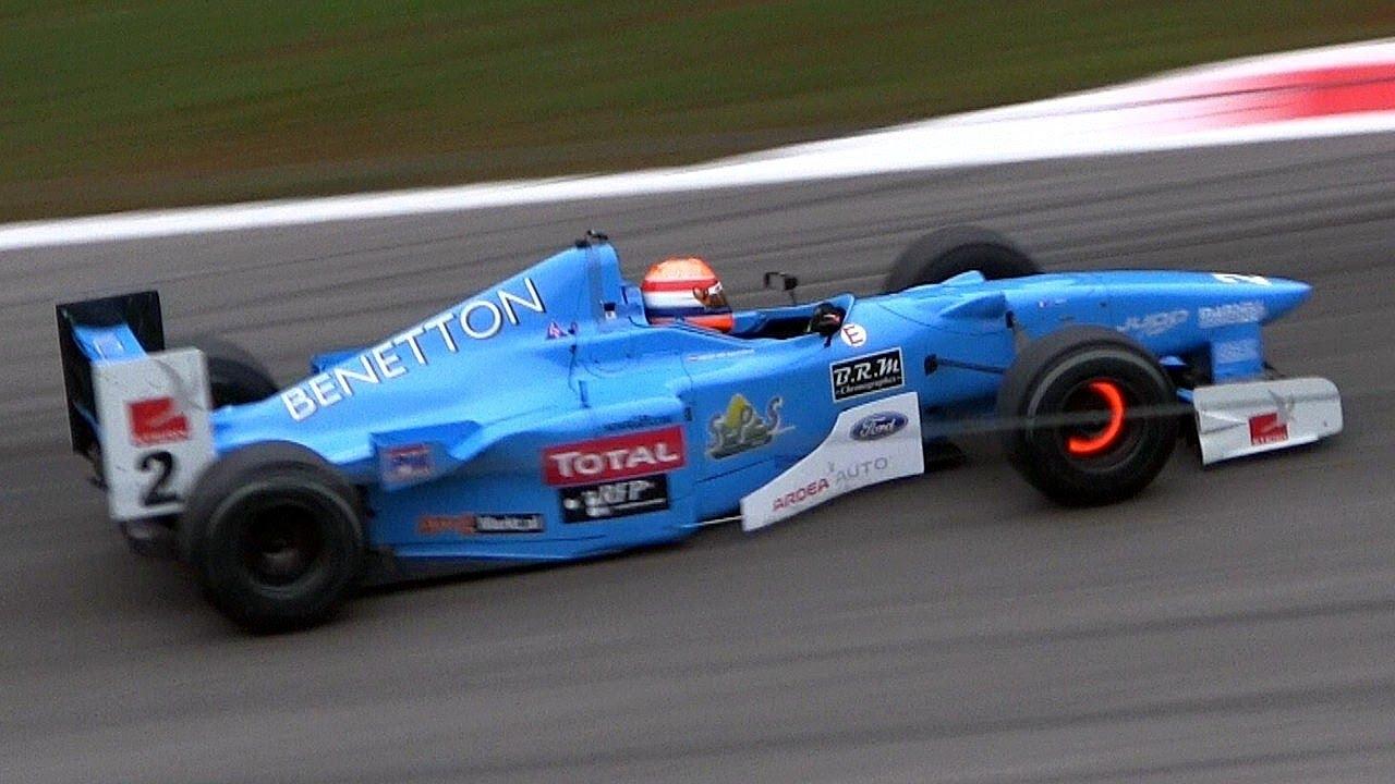 1997 Benetton B197 F1 Judd V10 Sound Youtube