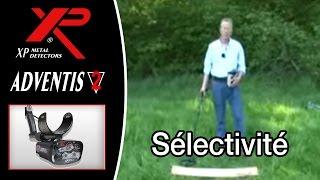 XP metal detectors - Adventis 2 - Sélectivité