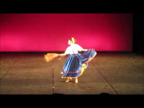Sabor de Mexico International Dance competition performance, Barcelona 2017