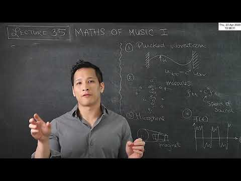 MA20223 Vectors & PDEs Lecture 35: The mathematics of music 2
