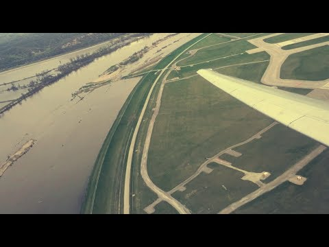 American Airlines | McDonnell Douglas MD-80 Takeoff From Omaha | Omaha Airport (OMA)