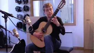 Johann Sebastian Bach - Gigue BWV 1004, by Sanel Redzic - classical guitar