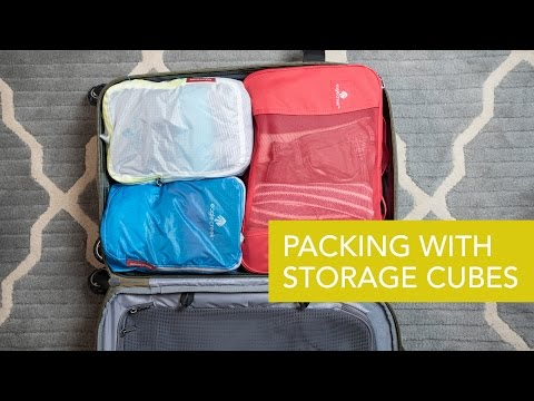 Packing with Eagle Creek's Storage Cubes