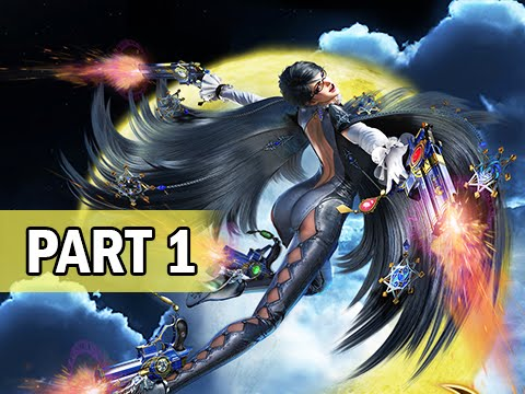 Bayonetta 2 Walkthrough Part 1 - The Witch is Back! (Wii U 1080p Gameplay)