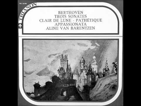 """ALINE VAN BARENTZEN plays BEETHOVEN Sonata No 23 """"Appassionata"""" (ca 1960)"""