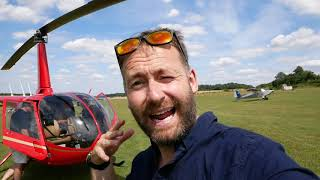 A fun afternoon in the helicopter... testing new microphone