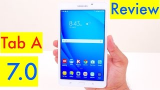 Samsung Galaxy Tab A 7.0 Review - 2016 model