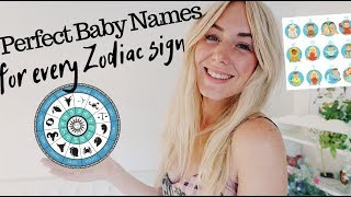Perfect BABY NAMES for each ZODIAC SIGN   SJ STRUM