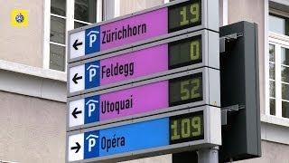 Test de parking en Suisse