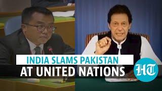 'Lies, misinformation, malice': India slams Pak PM Imran Khan's UNGA speech