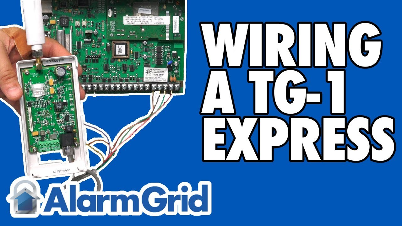 Wiring a TG-1 Express to a Wired Security System