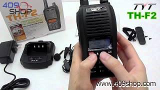 TYT TH-F2 UHF 400-470Mhz Two-way radio