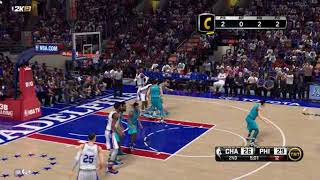 Nba 2k14 update to 2k19 : (realistic animation)