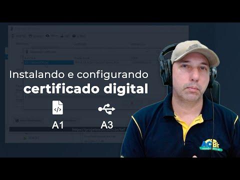 Certificados digitais A1 e A3 no ACBr