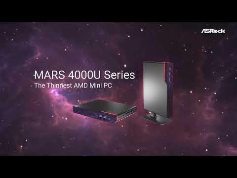 The World's Thinnest AMD Ryzen 4000 Mini PC – ASRock Mars 4000U Series