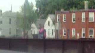 People walking on the train Bride,Hamilton,OH