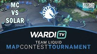 MC vs Solar (PvZ) - TL Map Contest Tournament 4 Groups