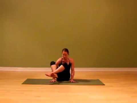 ashtavakrasana how to do the yoga pose  youtube