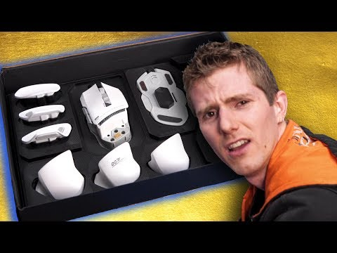 This Modular Mouse VIBRATES?? - JamesDonkey 007