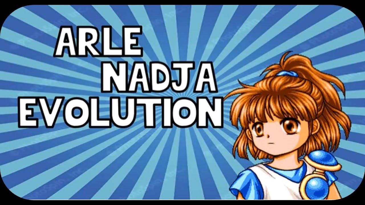 Evolution Of Arle Nadja From Puyo Puyo Á·ã'ˆã·ã'ˆã‹ã'‰arleナージャの進化 Youtube Арль надя / arle nadja. evolution of arle nadja from puyo puyo