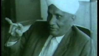 courtesy Raman Research Institute SIR CV Raman's Interview with Subtitles