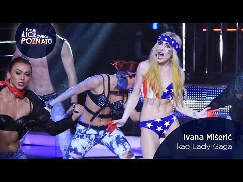 Ivana Mišerić kao Lady Gaga feat. Beyoncé: Telephone