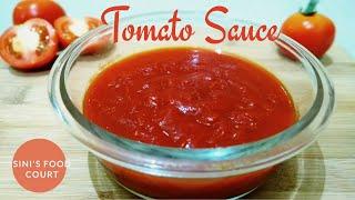Homemade Tomato Sauce | Tomato Ketchup | ടൊമാറ്റോ സോസ് ഇനി എളുപ്പത്തിൽ വീട്ടിൽ തയ്യാറാക്കാം