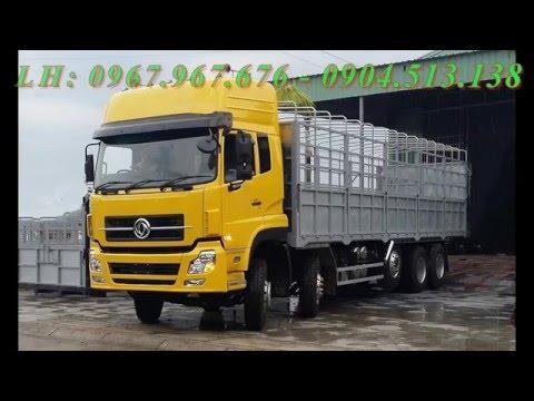 Xe tải Dongfeng 5 chân 22 tấn - 0904.513.138(gọi ngay hotline)