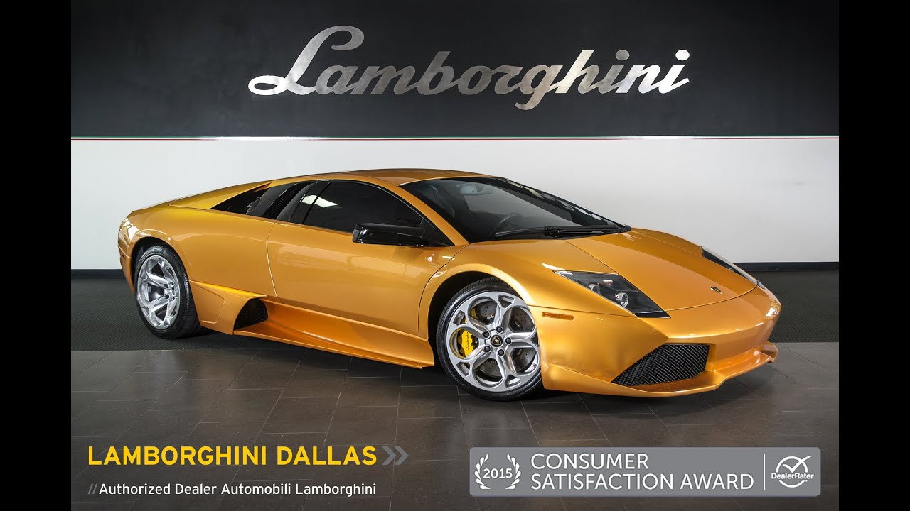 How To Get A Free Carfax Report >> 2007 Lamborghini Murcielago LP640 Oro Adonis LC358 - YouTube