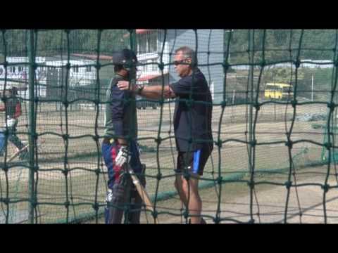 Nepali Cricket Team Training with Dev Whatmore