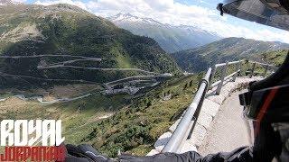 Switzerland/France tour trailer on a KTM 790 Duke