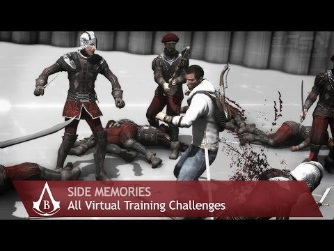 Assassin's Creed: Brotherhood - Side Memories - All Virtual Training Challenges