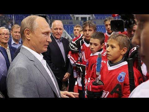Путин вбросил шайбу