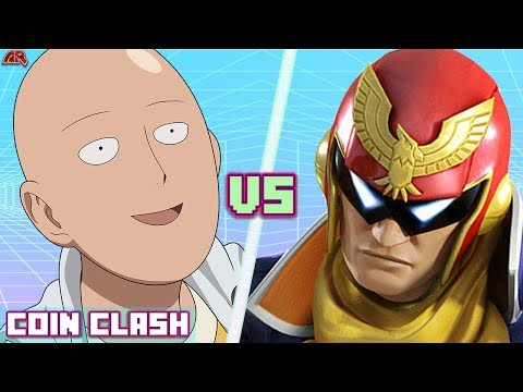 Saitama VS Captain Falcon! (One Punch Man vs Super Smash Bros) | COIN CLASH! NEW SERIES!