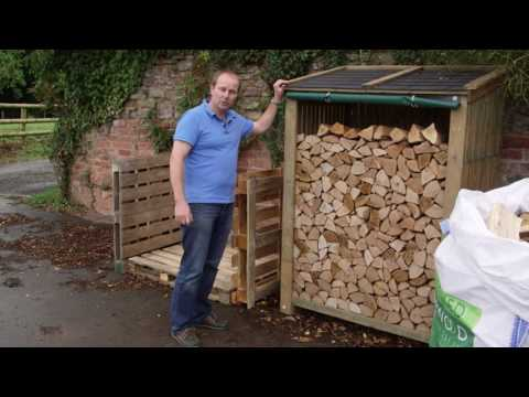 How to dry your firewood