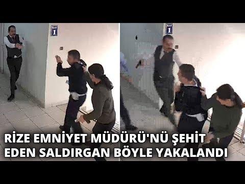 Rize Emniyet Müdürü&39;nü şehit eden saldırgan böyle yakalandı