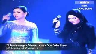 Alyah & Nora Duet Di Persimpangan Dilema at Astro Mania Minggu 7
