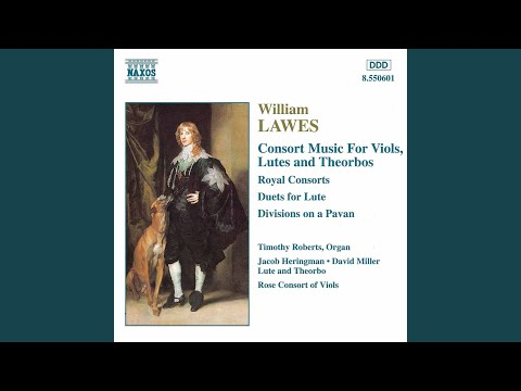 Royal Consort in D Minor for 2 theorbos: II. Aire mp3