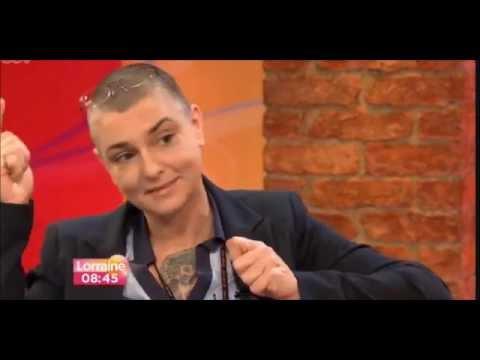 Magda Davitt (FKA Sinéad O'Connor) interview on ITV Lorraine