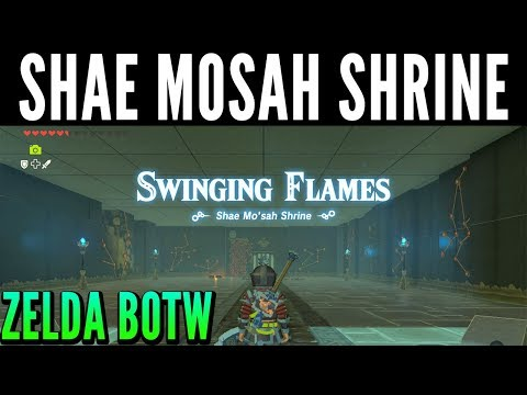 Shae Mosah Shrine / All Chests - Zelda Breath of the Wild