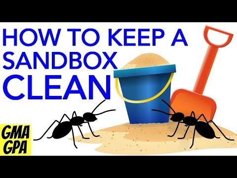 How To Help Keep Your Sandbox Clean & Free Of Insects, Spiders, Bugs & Slugs + Safer For Children