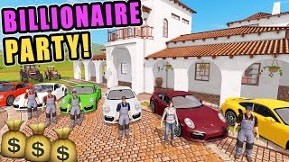 BIG PARTY AT THE MANSION! WITH THE PORCHES 911s | FS17 YOU WILL BE MISSED